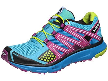Salomon XR Mission Women's Shoes Blue/Purple/Green