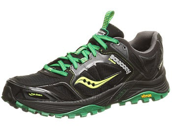 Saucony Xodus 4.0 GTX Men's Shoes Blk/Grn/Cit