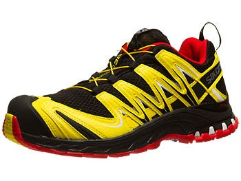 Salomon XA Pro 3D Men's Shoes Black/Yellow/Red