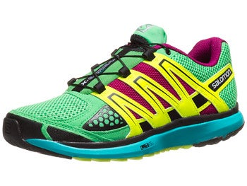 Salomon X-Scream Women's Shoes Wasabi/Blue/Yellow