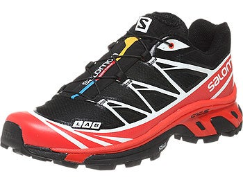 Salomon S-Lab XT 6 Softground Men's Shoes Blk/Rd