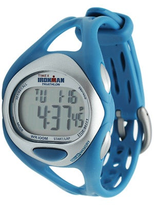 Timex Ironman Sleek 50-Lap Watch Full Blue & Fuchsia