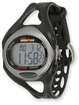 Timex Ironman Sleek 50-Lap Watch Full Black/Silver
