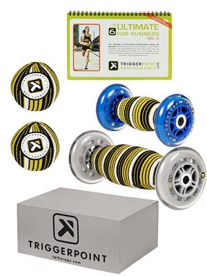 Trigger Point Ultimate Six Kit w/ Guidebook for Runners