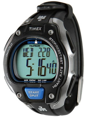 Timex Ironman Road Trainer Digital HRM Soft Strap Full