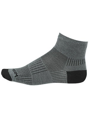 Wrightsock Double Layer CoolMesh II Quarter Socks