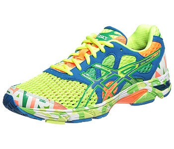 Details about ASICS GEL-NOOSA TRI 7 GLOW IN THE DARK NEON MULTI COLOR