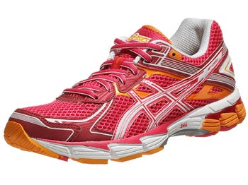 ASICS GT 1000 2 Womens Shoes Rasp/Wht/Mango