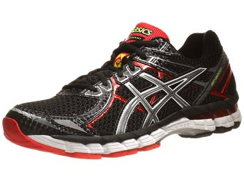 ASICS GT 2000 2 Mens Shoes Black/Lightning/Red