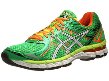 ASICS GT 2000 2 Mens Shoes Green/White/Orange