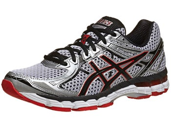 ASICS GT 2000 2 Mens Shoes White/Black/Red