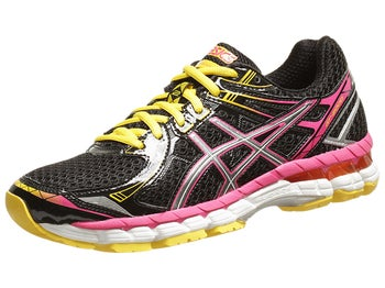 ASICS GT 2000 2 Womens Shoes Blk/Light/Rasp