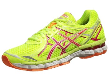 ASICS GT 2000 2 Womens Shoes Yellow/Pink/Orange