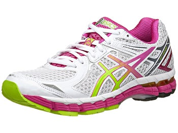 ASICS GT 2000 2 Womens Shoes White/Lime/Raspberry
