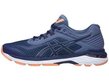 2ab7cc60dfa3 ASICS GT 2000 6 Women s Shoes Indigo Blue Smoke Blue