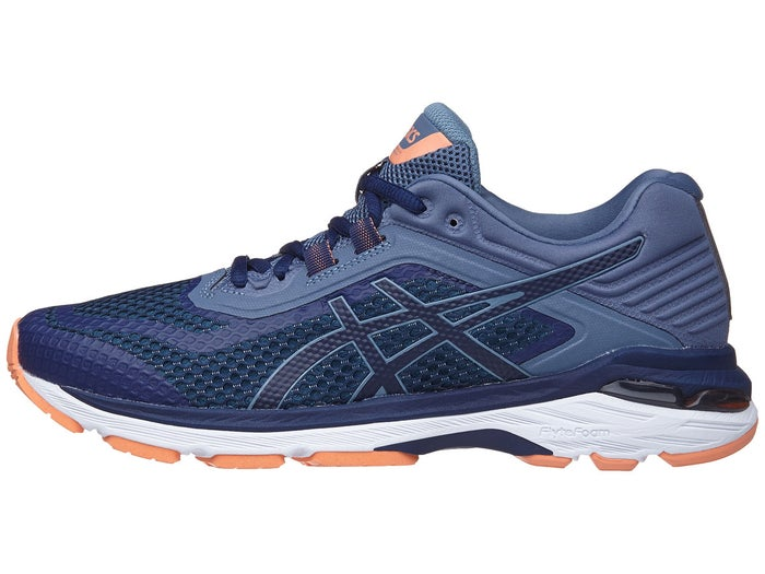 reputable site faf76 a0e92 ASICS GT 2000 6 Women's Shoes Indigo Blue/Smoke Blue