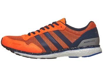 8103c1789c2987 adidas adizero adios 3 Men s Shoes Orange Navy Blue