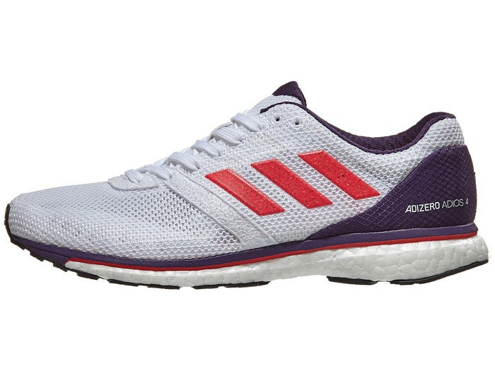 on sale e79a8 a0943 adidas adizero adios 4 Women's Shoes White/Red/Purple