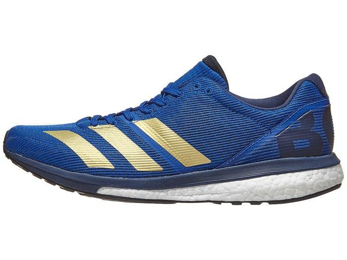 sélection premium 9a0bb 46538 adidas adizero Boston 8 Men's Shoes Royal/Gold/White