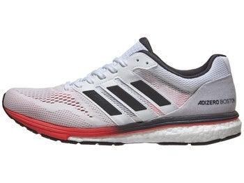 ff16b004ce34 adidas adizero Boston 7 Men s Shoes White Carbon Red