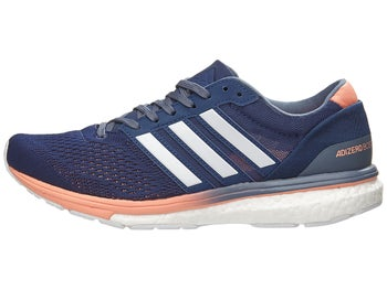 2b0c6632ec0 adidas adizero Boston 6 Women s Shoes Indigo White