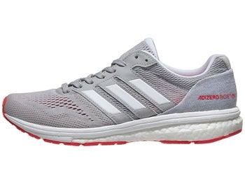 643f62e8eea2 adidas adizero Boston 7 Women s Shoes Grey White Red