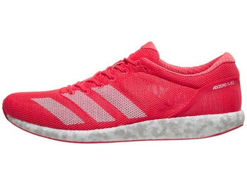 watch f6a85 a70ba adidas adizero Sub 2 Unisex Shoes Red White Pink