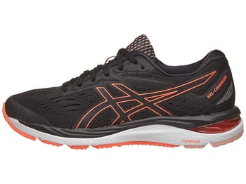 ASICS Gel Cumulus 20 Women s Shoes Black Flash Coral 4f25d9875bfc9