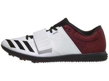 7f7aa779964d adidas adizero TJ PV Men s Spikes Flower White Black