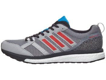 c44ae80b4ff6d8 adidas adizero Tempo 9 Men s Shoes Grey Red Carbon