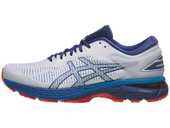 485972132e39 ASICS Gel Kayano 25 Men s Shoes White Blue Print
