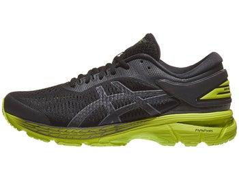 44bcabeb8 ASICS Gel Kayano 25 Men s Shoes Black Neon Lime