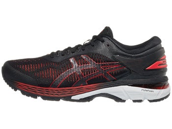 ASICS Gel Kayano 25 Men s Shoes Black Classic Red 50bf0059825f