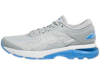 6d93326e5a38 ASICS Gel Kayano 25 Women's Shoes Mid Grey/Blue Coast