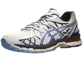 ASICS Gel Kayano 20 Mens Shoes White/Galaxy/Midnight