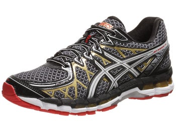 ASICS Gel Kayano 20 Mens Shoes Black/White/Gold
