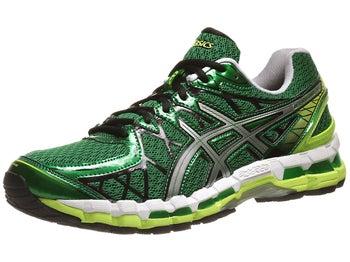 ASICS Gel Kayano 20 Mens Shoes Pine/Lightning/White