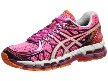 ASICS Gel Kayano 20 Womens Shoes Pink/White/Purple
