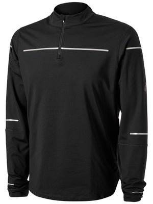 d4725ec111f ASICS Men's Lite-Show Winter LS 1/2 Zip Top