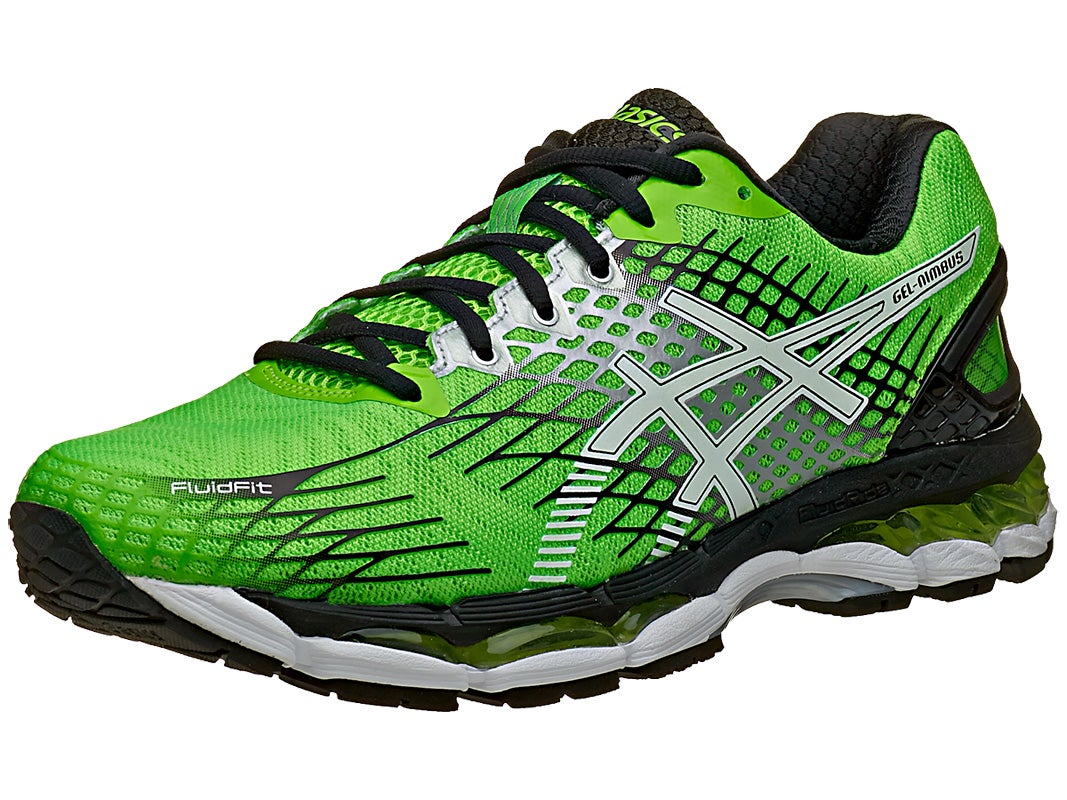 ASICS Gel Nimbus 17 Mens Shoes Green/White/Black