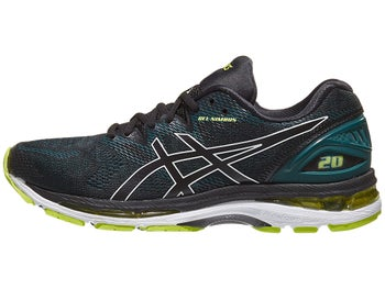ASICS Gel Nimbus 20 Men s Shoes Black Neon Lime f0e908936e