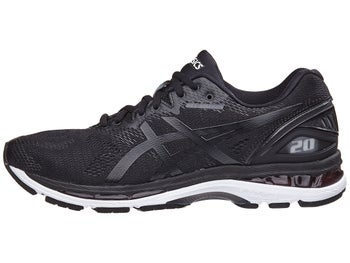 ASICS Gel Nimbus 20 Men s Shoes Black White Carbon fe0b6d61f