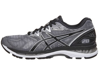 ASICS Gel Nimbus 20 Men s Shoes Carbon Black Silver c123f559b9