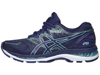 ASICS Gel Nimbus 20 Women s Shoes Indigo Blue Green c1a7477953