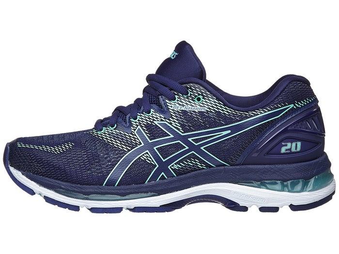 sneakers for cheap 66114 77d84 ASICS Gel Nimbus 20 Women's Shoes Indigo Blue/Green