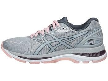728219cdf7eb ASICS Gel Nimbus 20 Women s Shoes Mid Grey Pink