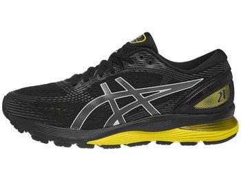 610cbf3a882 ASICS Gel Nimbus 21 Men's Shoes Black/Lemon Spark