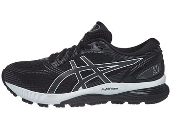 314a3445b526 ASICS Gel Nimbus 21 Men s Shoes Black Dark Grey