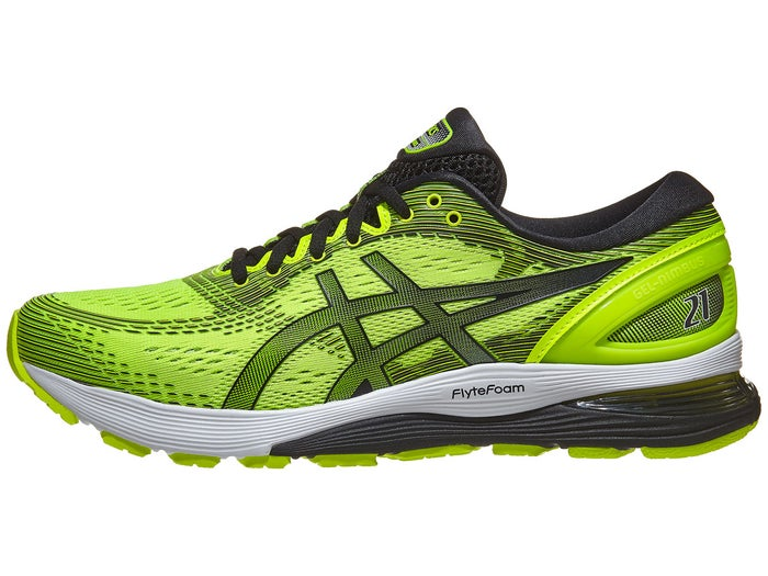 new styles outstanding features buy real ASICS Gel Nimbus 21 Men's Shoes Safety Yellow/Black