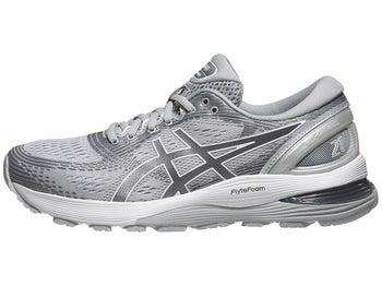 b3ecf35ea1 ASICS Gel Nimbus 21 Women's Shoes Mid Grey/Silver